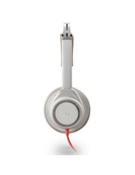 Blackwire 7225 - USB A - Profil - Blanc